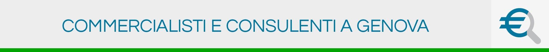 Commercialisti e Consulenti a Genova