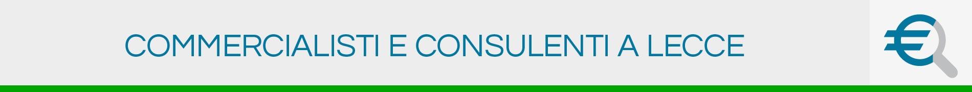 Commercialisti e Consulenti a Lecce