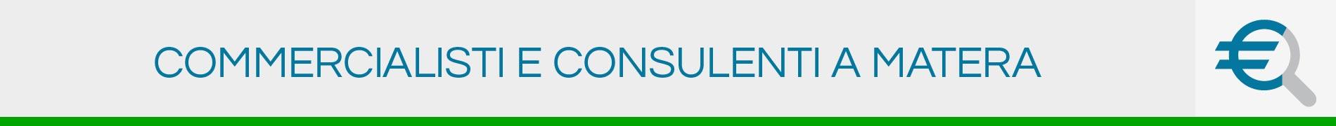 Commercialisti e Consulenti a Matera