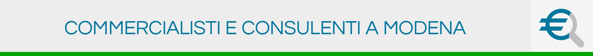 Commercialisti e Consulenti a Modena