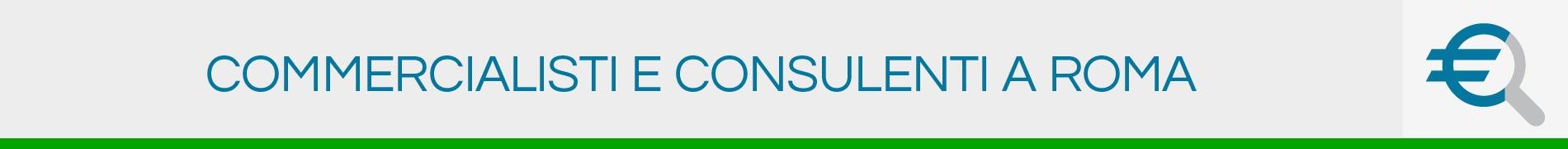 Commercialisti e Consulenti a Roma